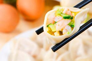 武汉虾仁三鲜水饺